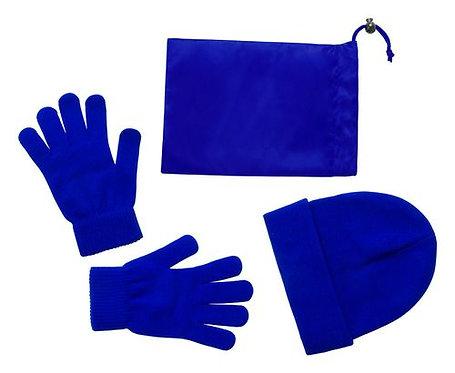 Зимен комплект -  шапка ръкавици и калъфче Alexander