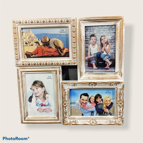 Винтидж рамка с 4 Ваши снимки