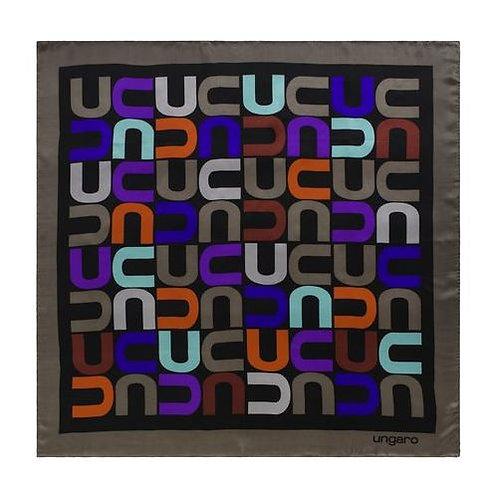 Дамски копринен шал Ungaro - MONOGRAMMA