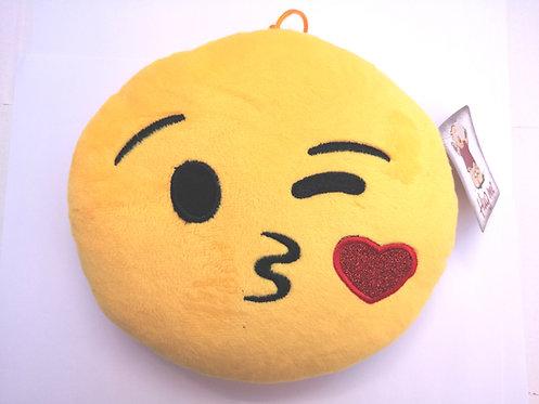 Плюшен 'Емотикон' целувка