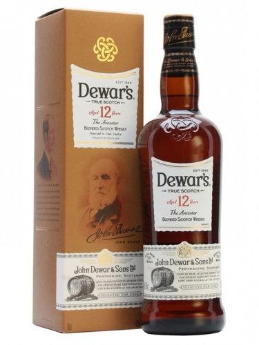 Уиски Dewar's 12YO/ Дюърс 12г