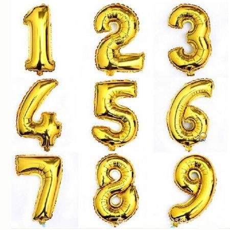 Балони с цифра (2 броя)