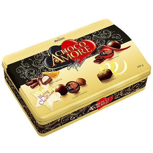 Бонбониера CHOCO AMORE в метална кутия 300гр