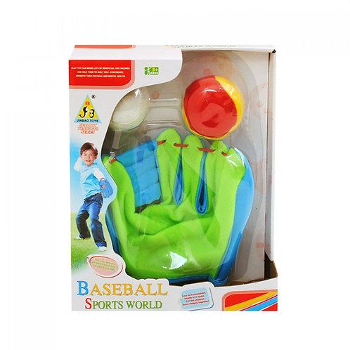 Бейзболна ръкавица с топки
