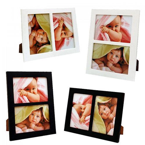 Фоторамка с 2 Ваши снимки (различни цветове)
