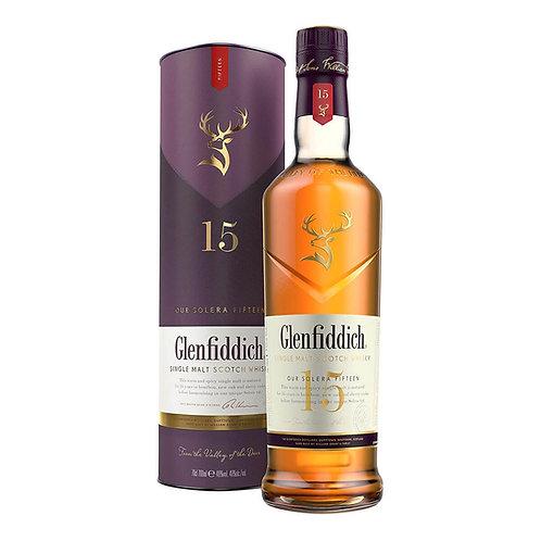 Уиски Glenfiddich 15 YO/ Гленфидих 15г