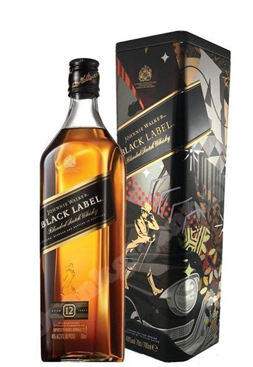 Уиски Johnnie Walker Black Label 12 г. 0.7л
