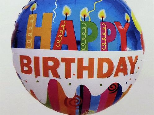 Балон HAPPY BIRTHDAY (повече от един само за Варна)