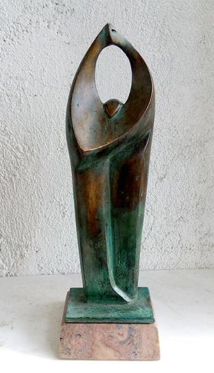 UNITY, H25cm, бронзова скулптура, Автор: Стойчо Никифоров