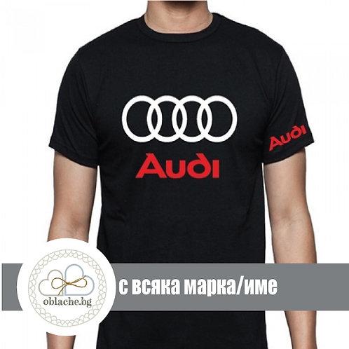 Тениска свързана с автомобили (всяко име/марка/до 5XL/различни цветове и модели)