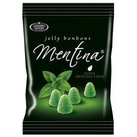 Бонбони Mentina желирани 90g (различни видове)