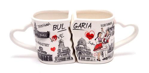 Комплект чаши 'България'