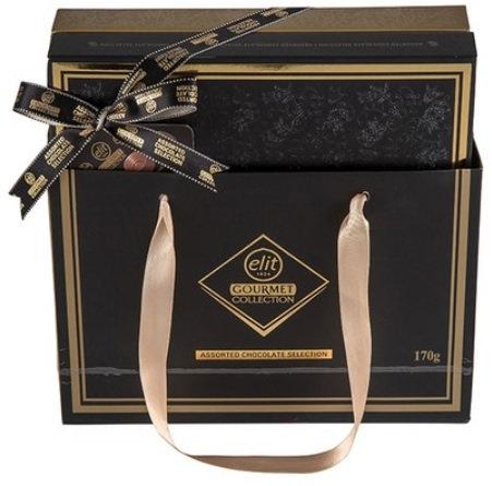 Гурме бонбониера в луксозна опаковка Elit 170гр