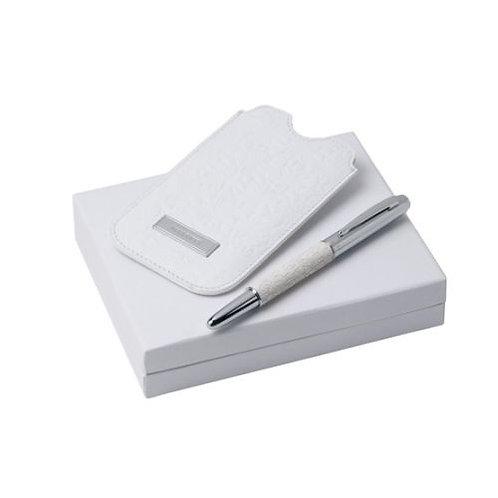 Комплект химикалка и кожен калъф Neve Nina Ricci