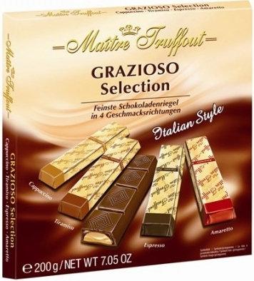 Бонбониера Maitre Truffout GRAZIOSO 200гр