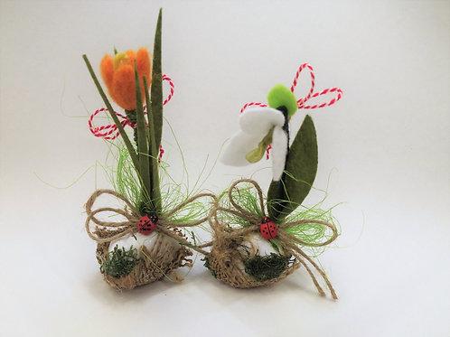 Ръчно изработено цвете (малко)