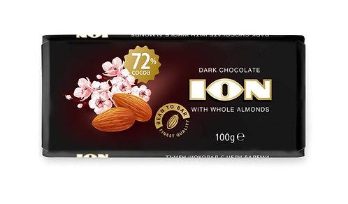 BIO/Organic шоколад ION 72% какао 100гр