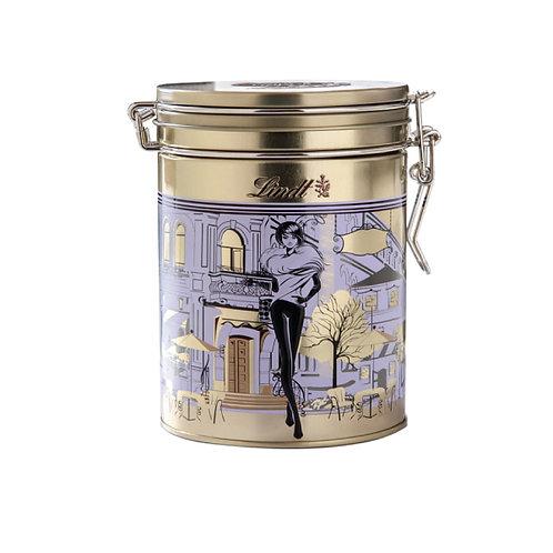 Бонбониера Lindt City Dream Gold в метална кутия  215гр