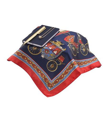 Дамски комплект - шал, бележник, колие, метална химикалка
