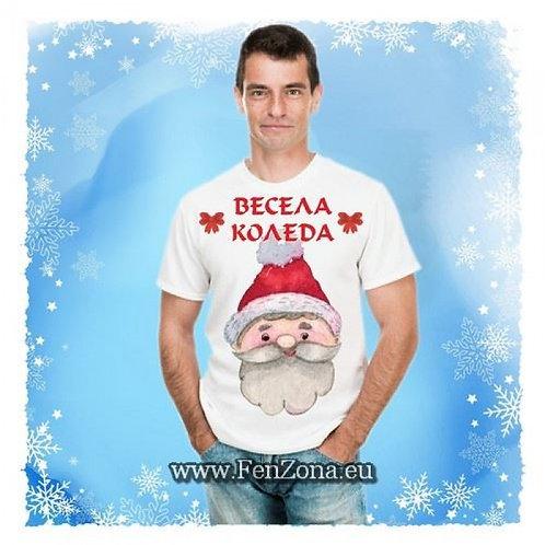 Мъжка Коледна тениска
