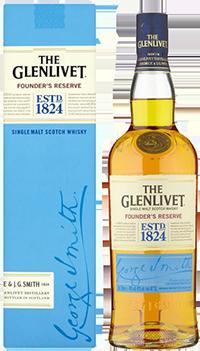 Уиски Glenlivet Founder's Reserve / Гленливет Фаундърс Ризърв