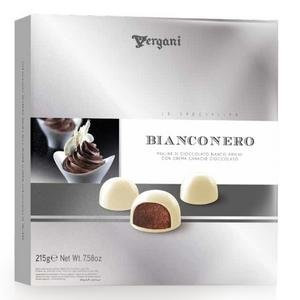 Бонбониера VERGANI Bianco Nero 215гр