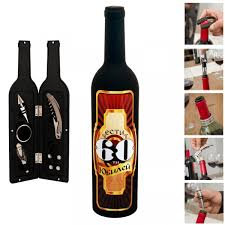 """Аксесоари за вино """"Честит Юбилей"""" в бутилка"""