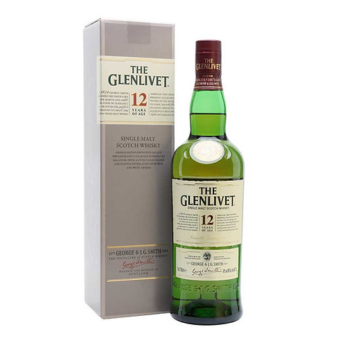 Уиски Glenlivet 12YO / Гленливет 12г