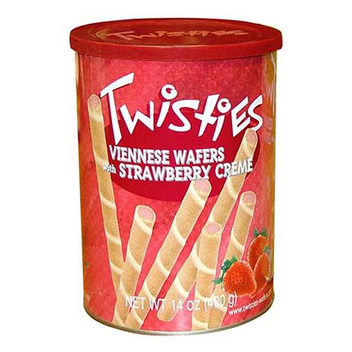 Пурички с крем Twisties