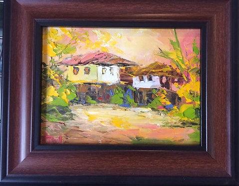 Пейзажи (живопис, масло, Анелия Тодорова)
