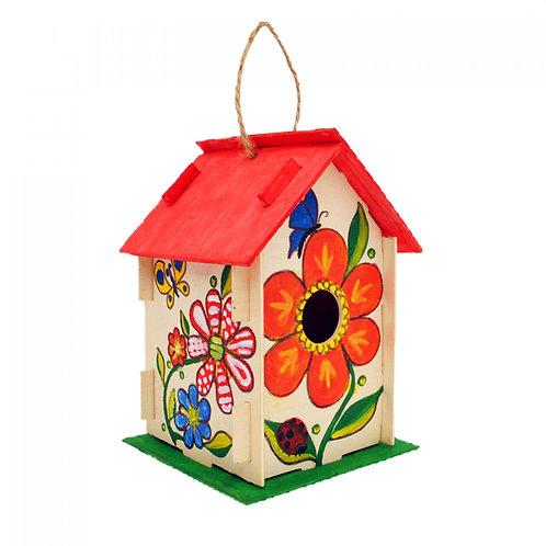 Направи си сам дървена къщичка за птички