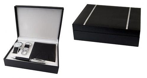Комплект портфейл, ръчен часовник, химикал и ключодържател F.Bartholdi