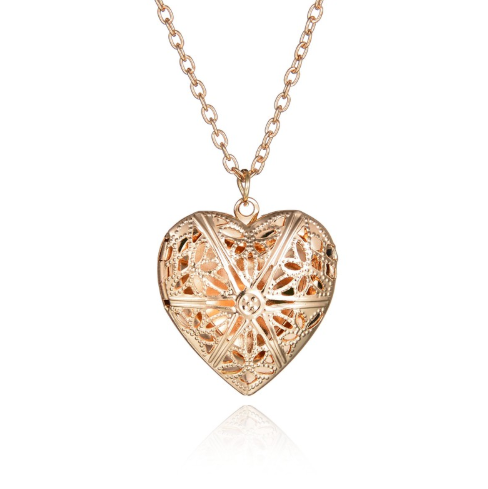 Медальон с висулка сърце