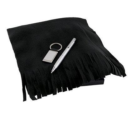 Ключодържател, химикал и поларен шал в кутия F. Bartholdi