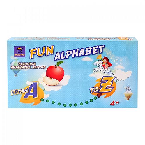 Забавна азбука - българска или английска