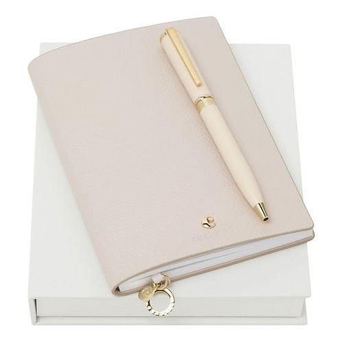 Комплект бележник и химикалка Cacharel - Beaubourg