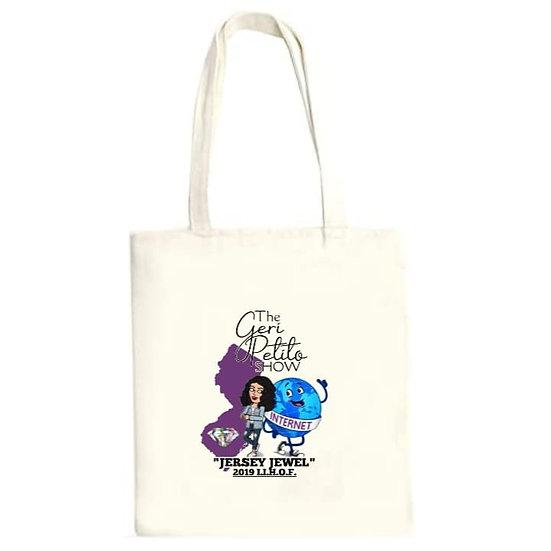 The Geri Petito Show Jersey Jewel Tote Bag