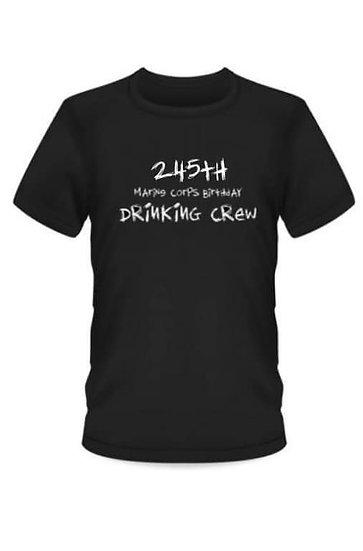 MARINE COPRS BIRTHDAY DRINKING CREW PARTY LIKE ITS 1775 T-SHIRT