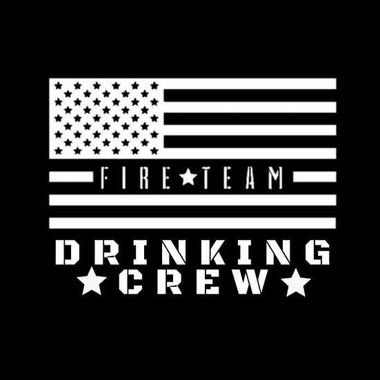 FIRE TEAM DRINKING CREW T-SHIRT