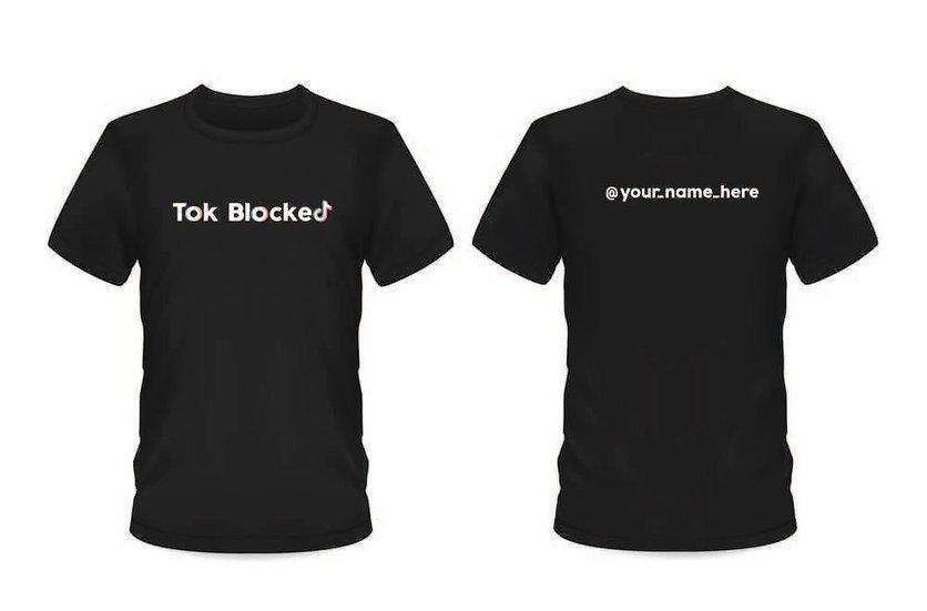 Tok Blocked T-Shirt