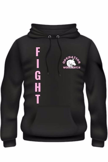 Breast Cancer Operation Wolf Eyes  - Wolf Pack strong - Fight