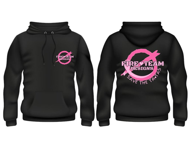 Breast Cancer Save The Tata's Hoodie