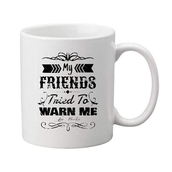 My Friends Tried to Warn Me Mug