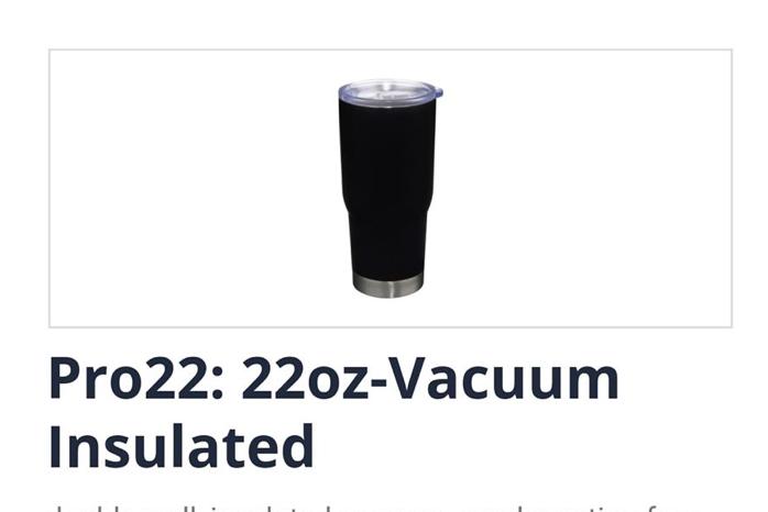 22oz Vacuum Insulated Tumbler