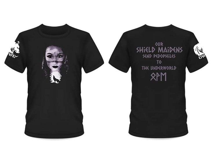 Operation Wolf Eyes Shield Maiden VONA Series T-shirt