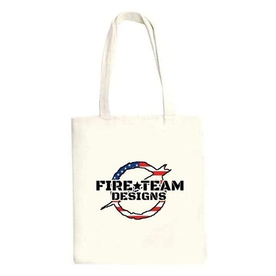 Fire Team Designs Tote Bag