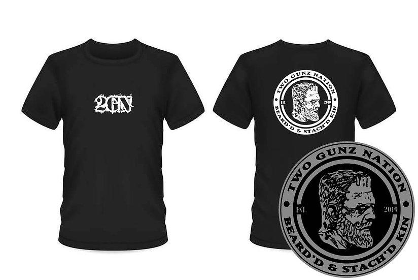 2GN Beard'd & Stach'd kin T-Shirt (ORDER #53)