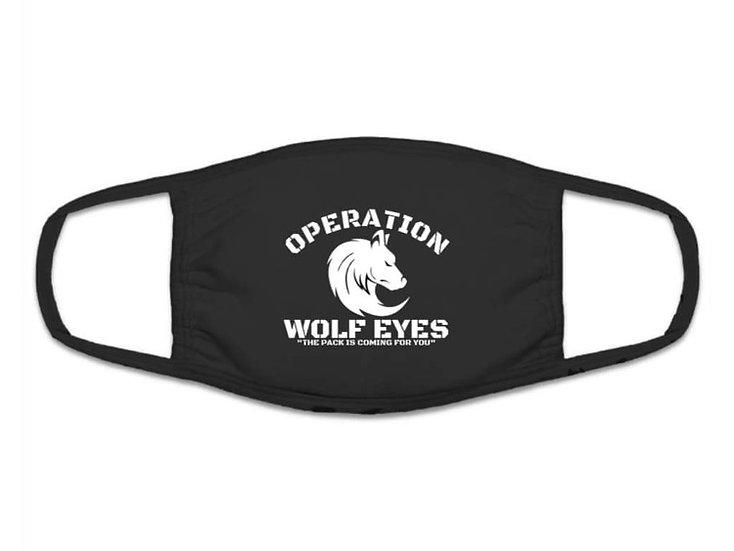 Operation Wolf Eyes Face Mask