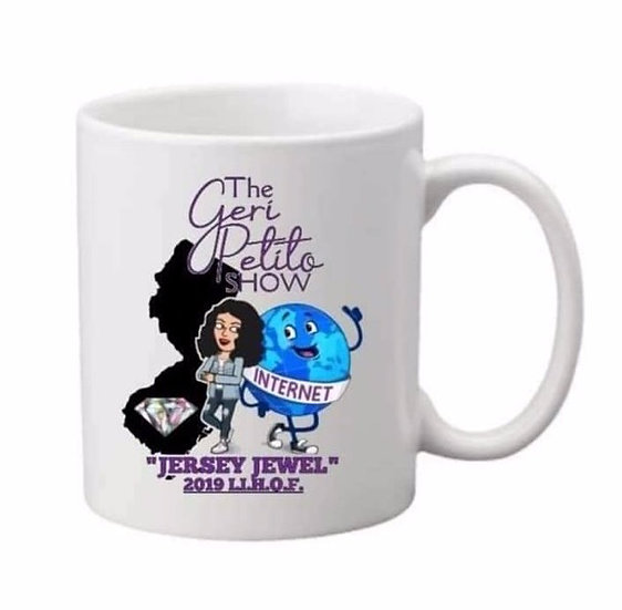 The Geri Petito Show Jersey Jewel Mug