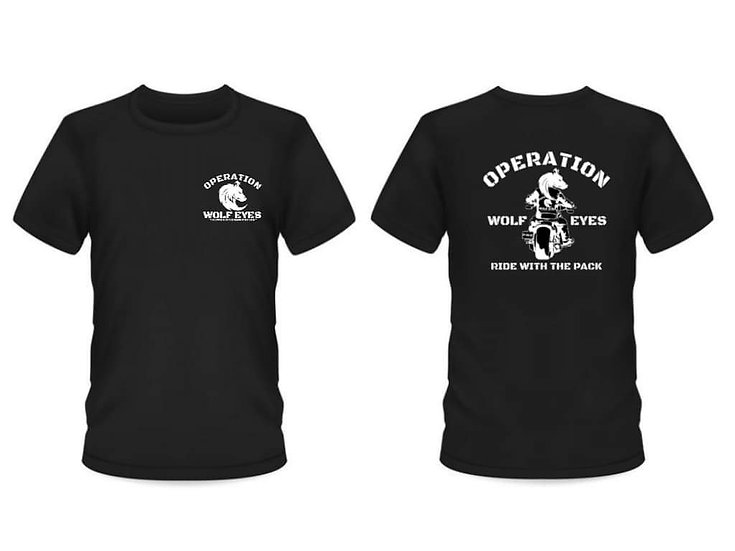 Ride with the pack Operation Wolf Eyes T-Shirt